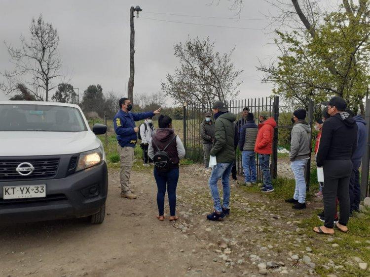 En Huapi Bajo la PDI detecta a una veintena de extranjeros indocumentados