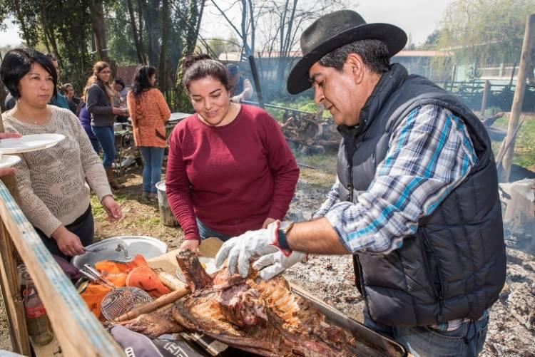 """Fiesta del Cordero al Palo"" en San Juan"