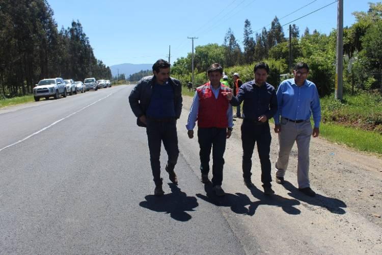 Importante avance tiene mejoramiento de Ruta CM7 en Colbún - Septima Pagina