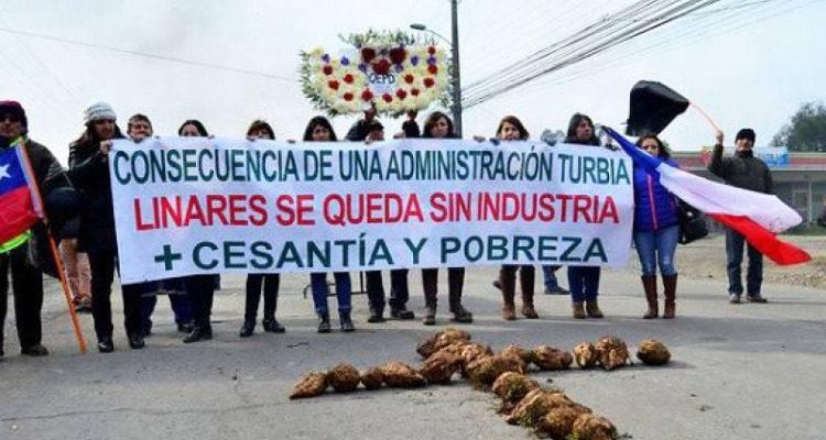 No hay información oficial sobre reapertura de la Iansa Planta Linares