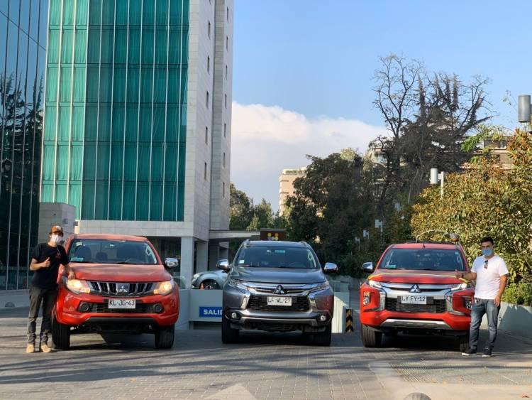 "Mitsubishi entrega flota de vehículos a ""Desafío Levantemos Chile"" para apoyar emergencia por Covid-19"