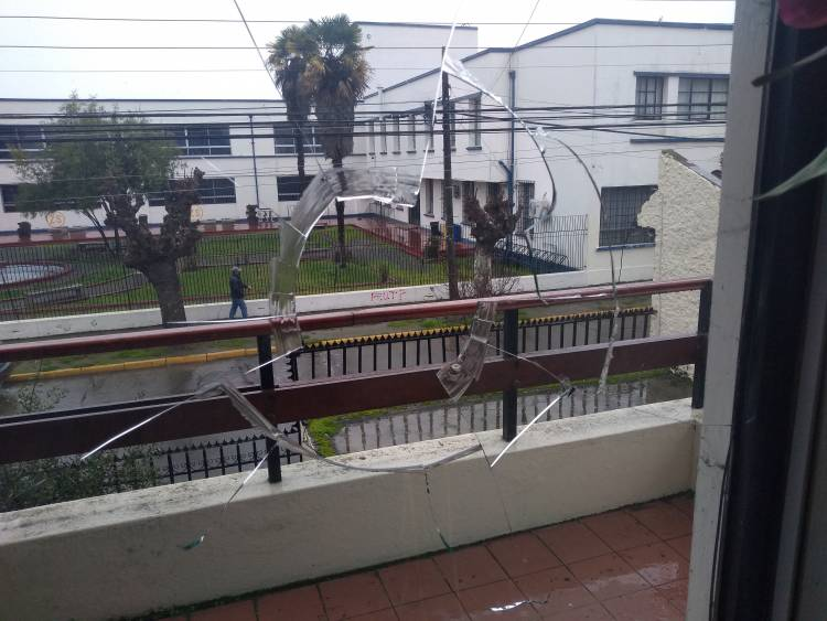 Diputado Rentería presentará querella por destrozos realizados a la casa de su madre