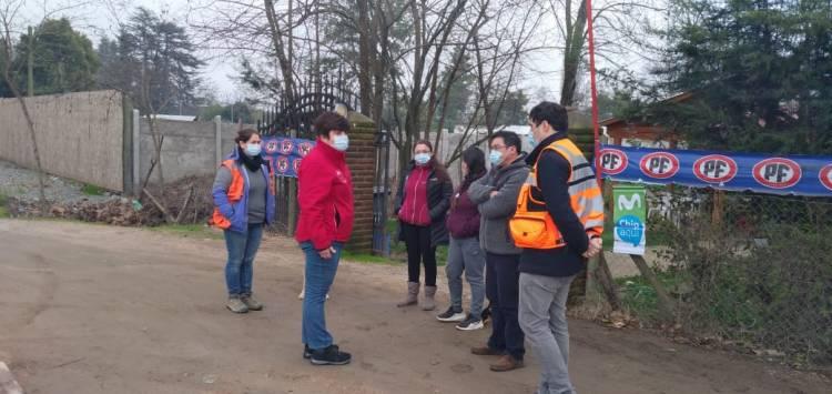 Anuncian mejoras para camino sector Salida Huapi de Linares