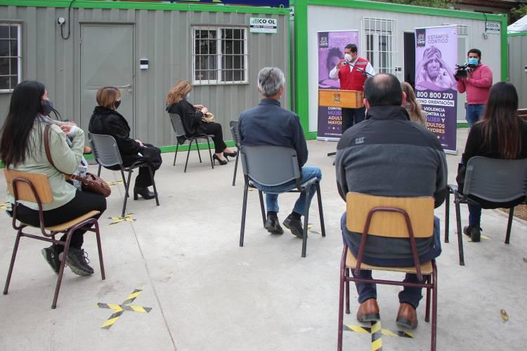 El 800 800 270 es el fono de emergencia para denunciar violencia contra la mujer y adultos mayores en Linares