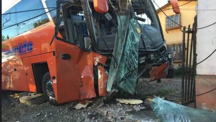 Dos lesionados deja accidente en sector oriente de Linares