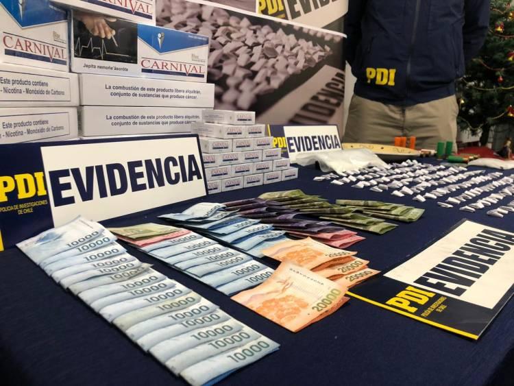 Con 12 detenidos culmina operativo antidrogas en Longaví y Linares