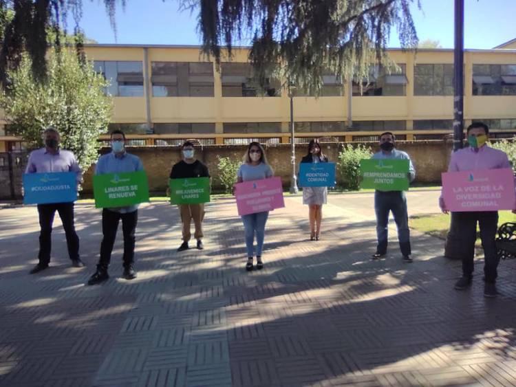 Evópoli presentó sus siete candidatos a concejal por Linares