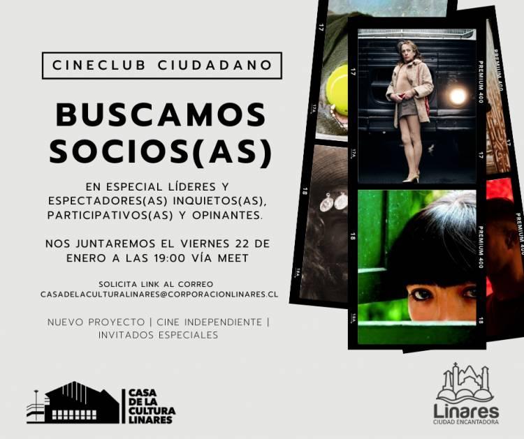 """En Linares convocan a participar del plan de """"cineclub ciudadano"""""""