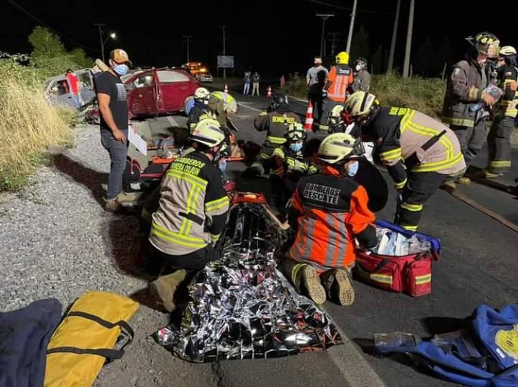 Carabineros confirma el deceso de una persona tras violento accidente en sector San Nicolás en la comuna de Colbún