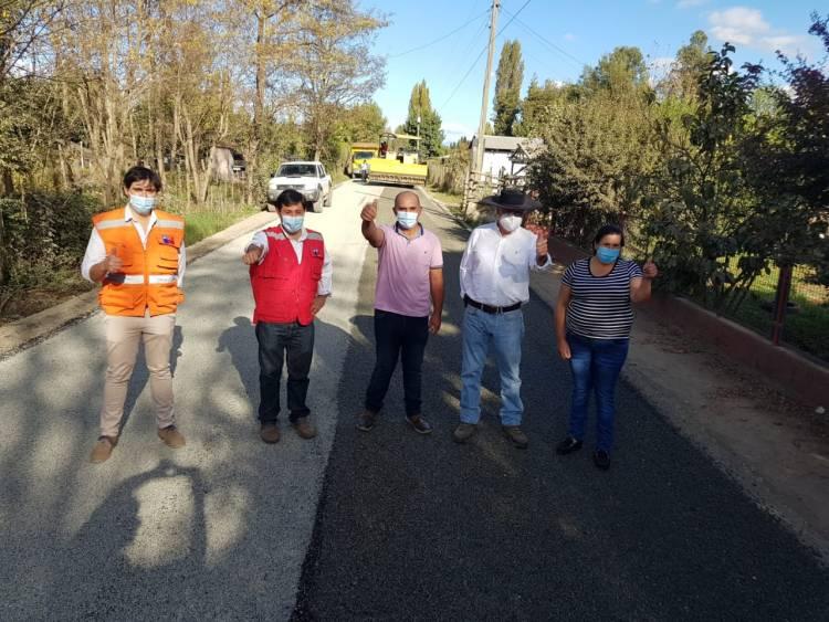 Seremi del MOP inspecciona mejoras en caminos de la comuna de Longaví